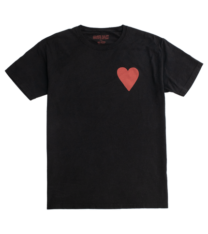 Lucky Number Seven Tee - Hearts