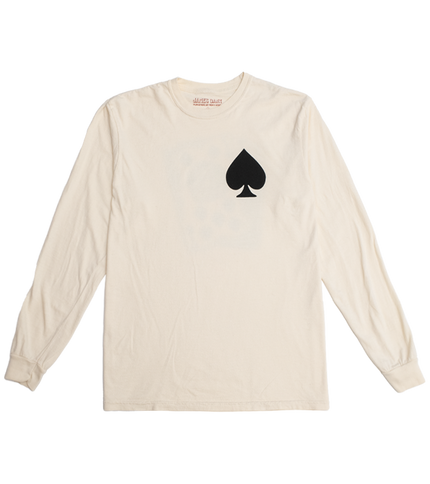 Lucky Number Seven Tee - Spades