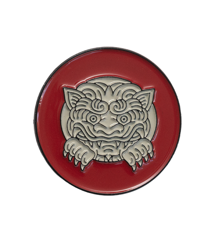 Sneak Peek Gargoyle Pin - Red