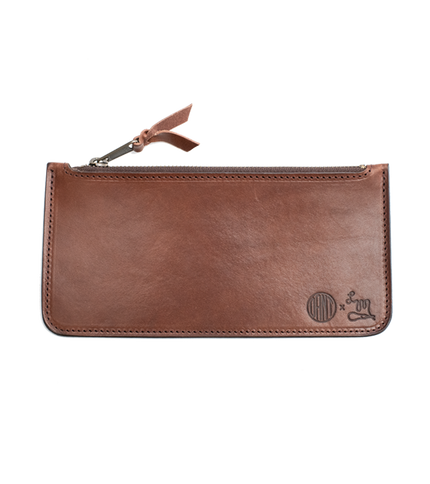 Tommy Cash Stash Zipper Pouch - Anniversary Tan