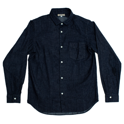 8oz - Denim Bouno Shirt - Indigo