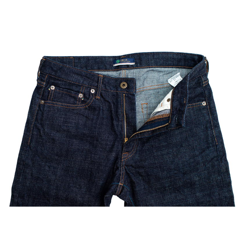 16.5oz - Cote d'Ivoire Circle Selvedge - Tapered Fit - J266
