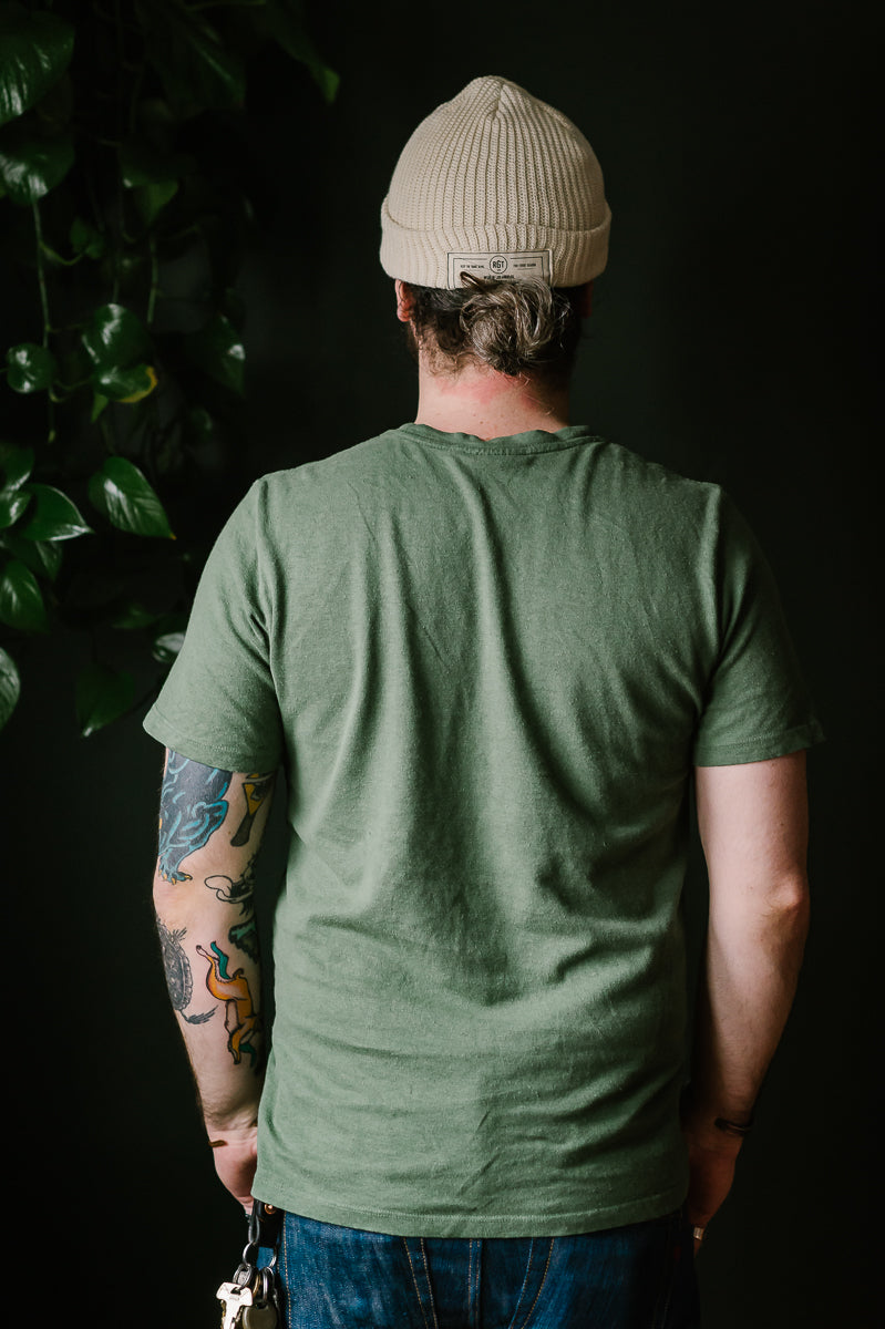 Baja Pocket Tee - Spruce Green