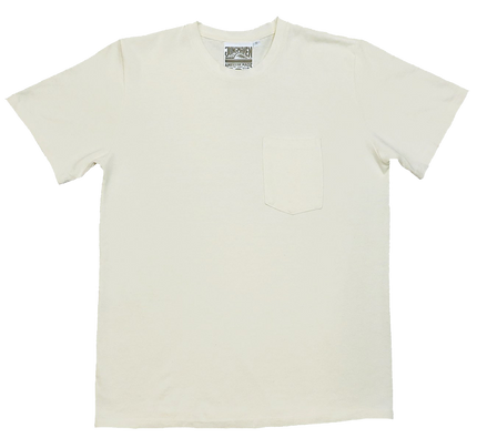 Baja Pocket Tee - Washed White