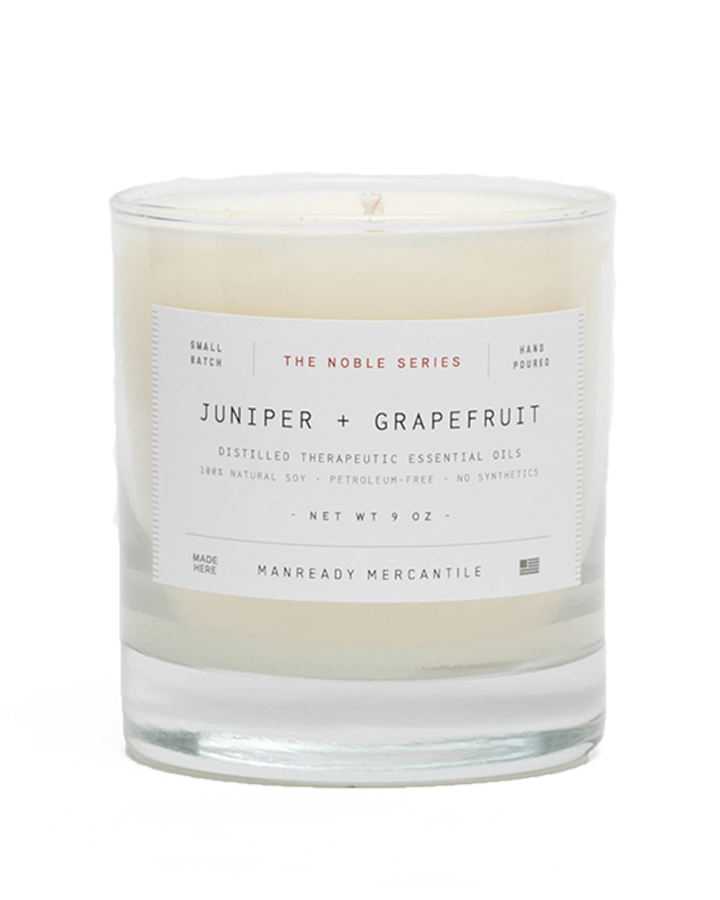 Noble Series Candle - Juniper + Grapefruit