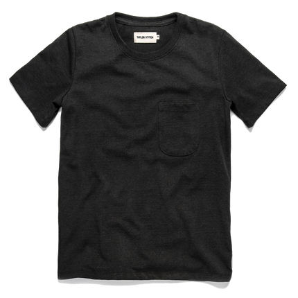 The Heavy Bag Tee - Black Melange