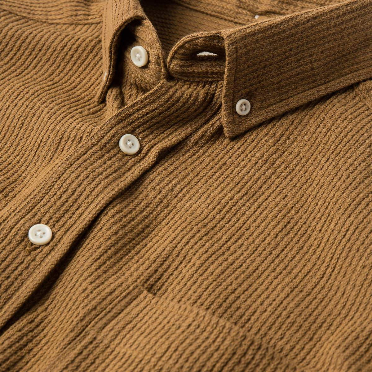 The Jack L/S Cone Mills Corded - Tobacco