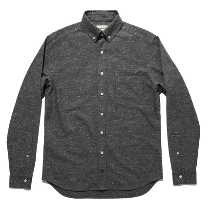 The L/S Jack - Charcoal Donegal