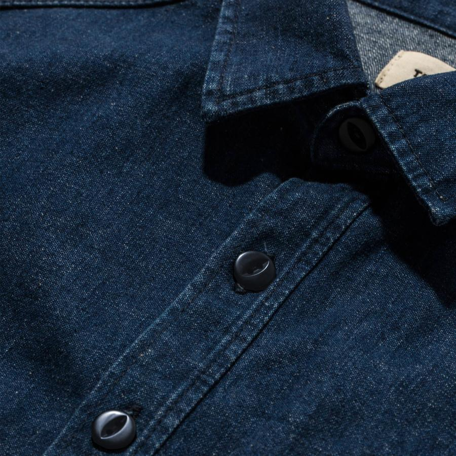 The Cash Shirt - Washed Selvedge Denim