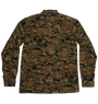 Pixel Camouflage Shirt - Orange