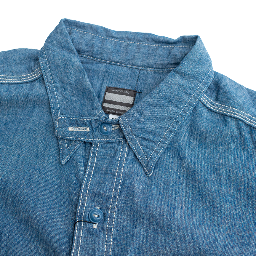 5oz - Original Chambray - Light Indigo