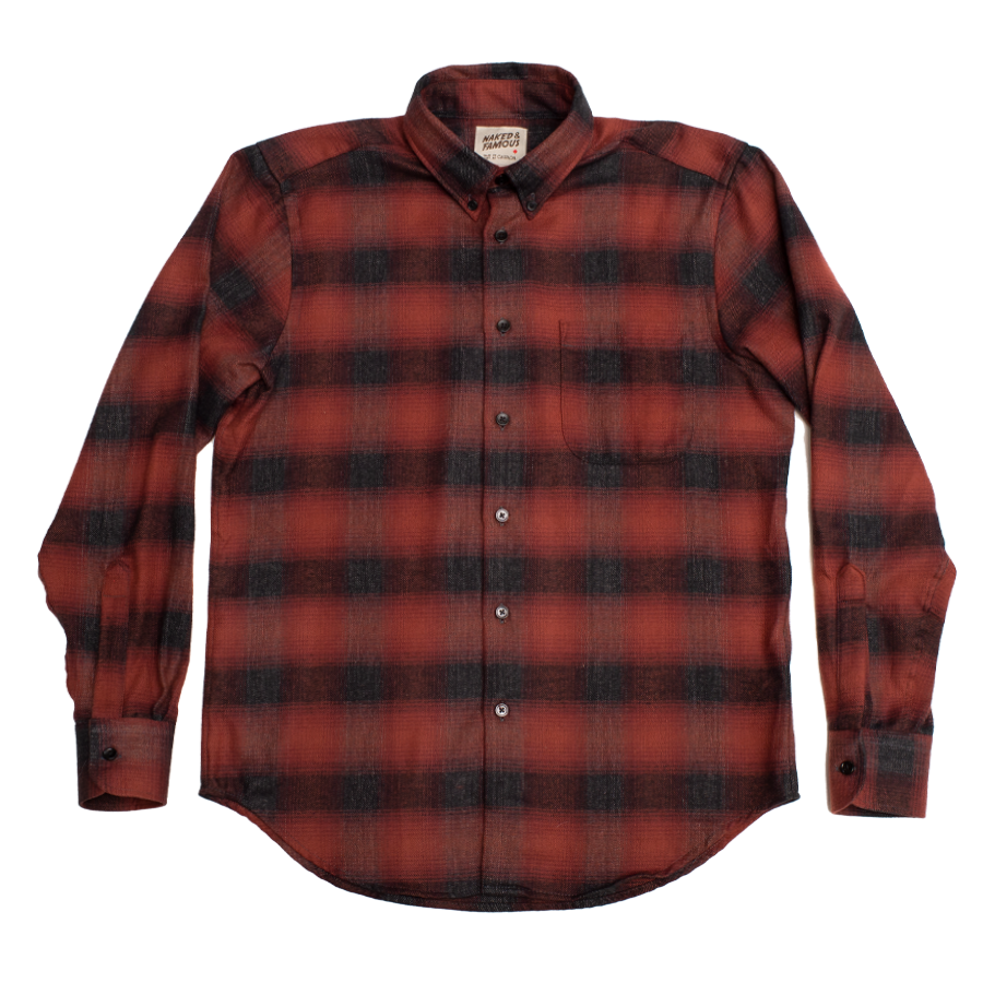 Easy Shirt - Brushed Plaid - Red