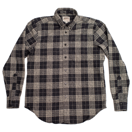 Easy Shirt - Triple Twist Yarn Vintage Flannel - Grey