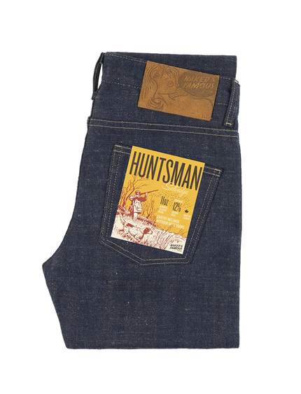 11oz - Huntsman Selvedge - Indigo/Mustard - Super Guy
