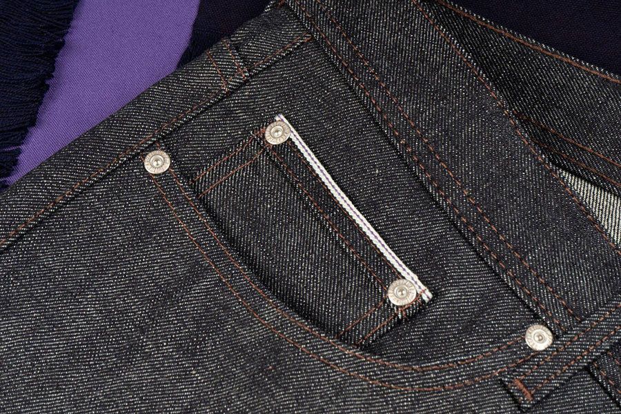 12.5oz - Purple Core Selvedge - Super Guy