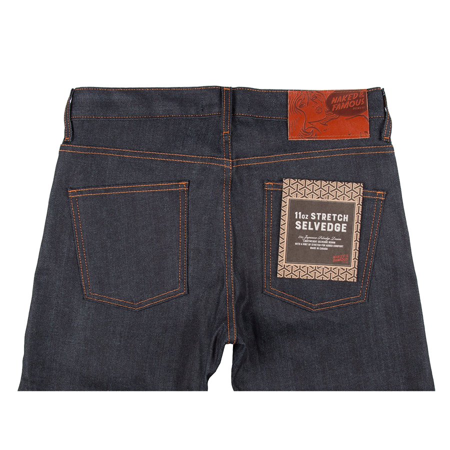 11oz - Stretch Selvedge - Super Guy