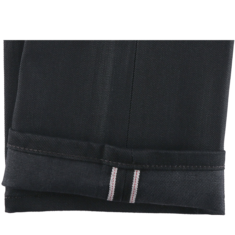 12oz - Black Cobra Stretch Selvedge - Weird Guy