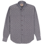 L/S Easy Shirt - Sashiko Dobby - Chambray