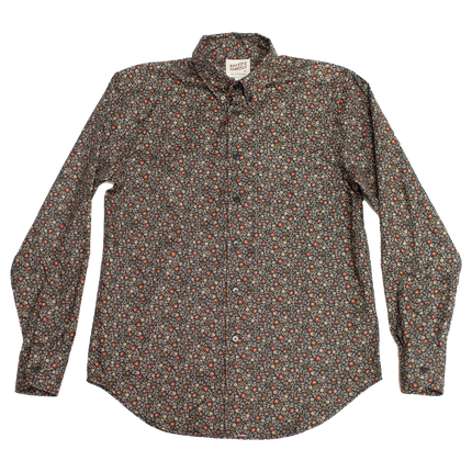 Easy Shirt - Vintage Flowers - Black