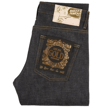 12.5oz - Real Gold Selvedge - Super Guy