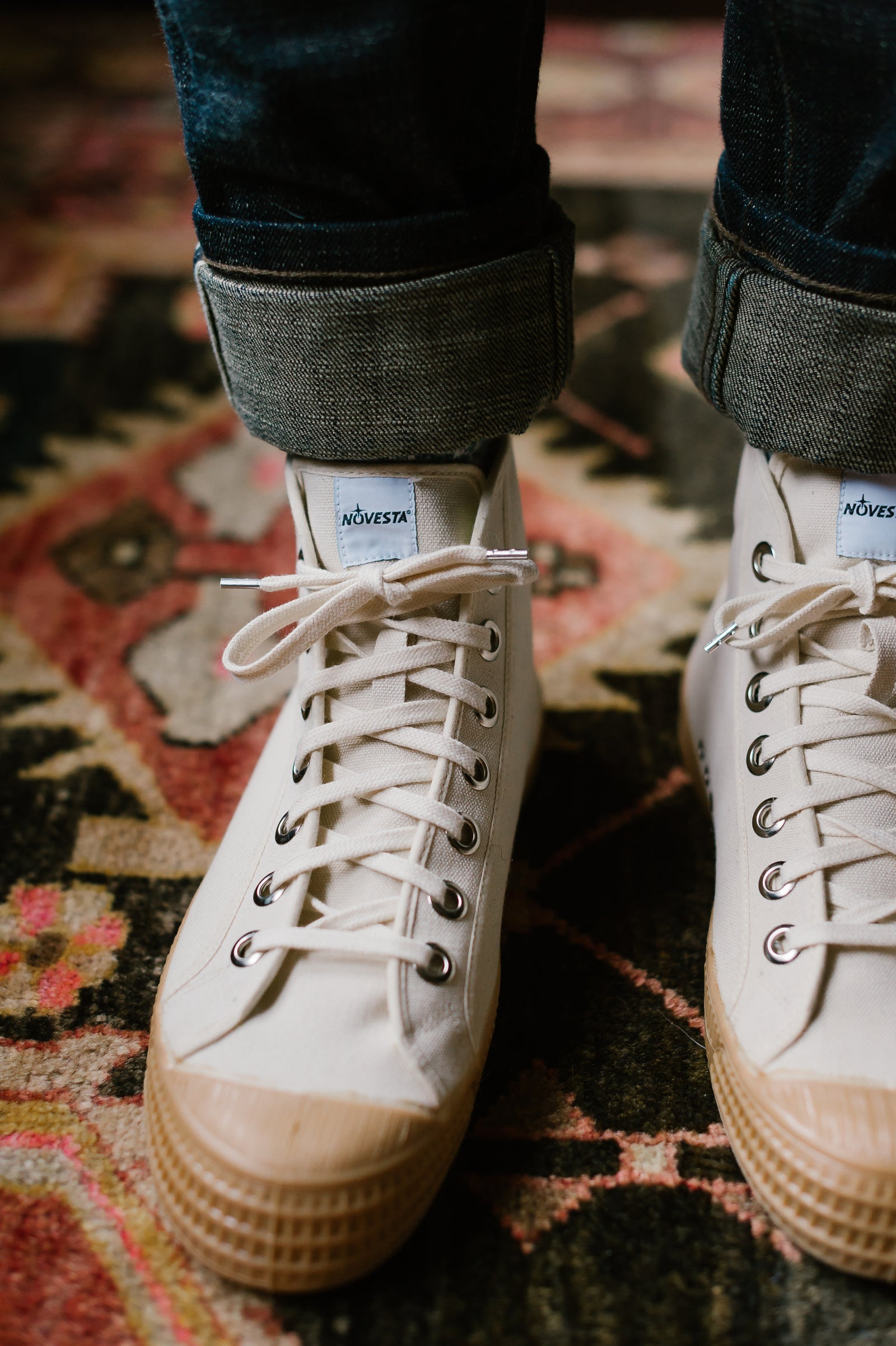 Star Dribble 99 High Top - Beige/Transparent