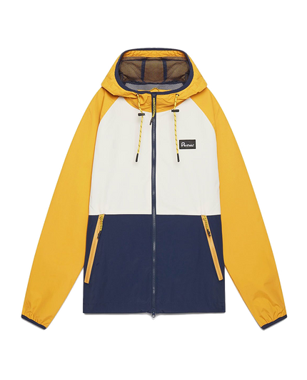 Echora Colourblock Jacket - Mineral Yellow