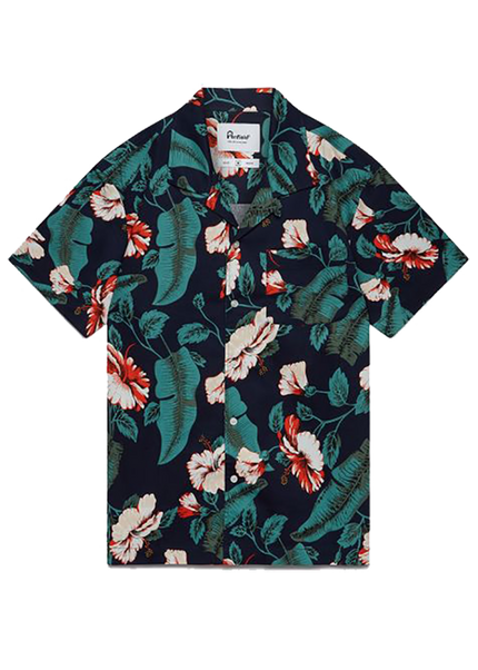 Hunter Vacation Shirt - Navy