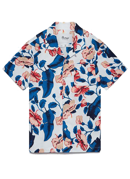 Hunter Vacation Shirt - White