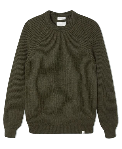 Ford Crew Jumper - Olive