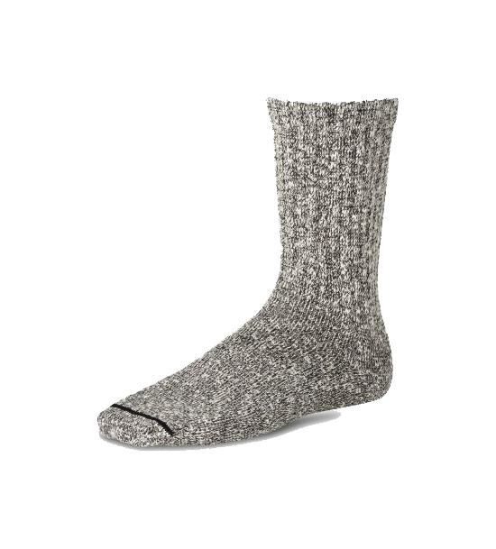 Cotton Ragg Sock - Black