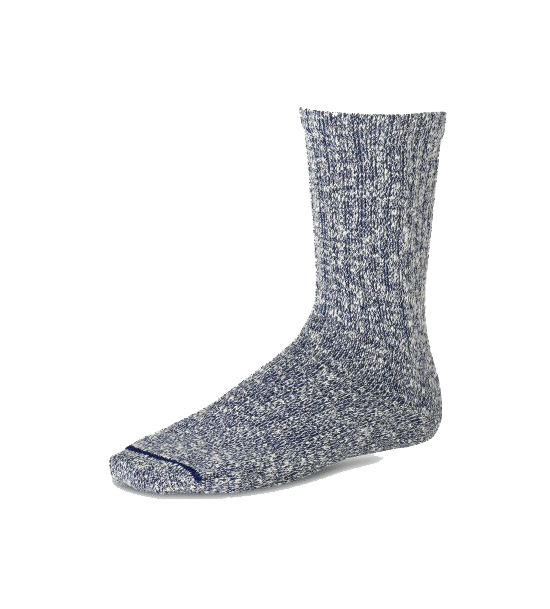 Cotton Ragg Sock - Navy