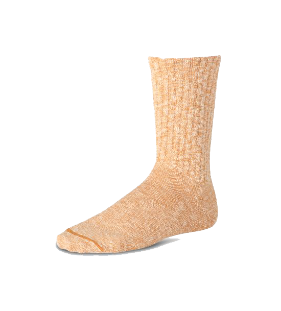 Cotton Ragg Sock - Yellow