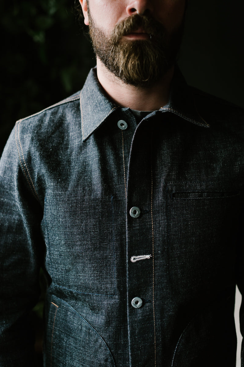 Supply Jacket - Cryptic Indigo