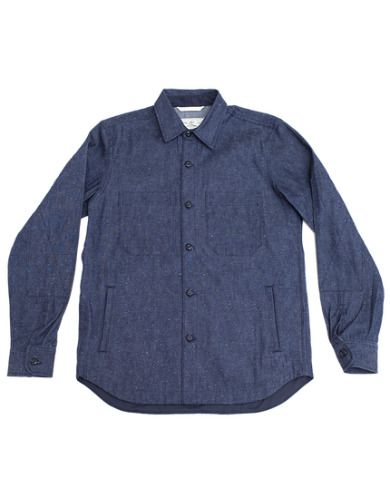 Patrol Work Shirt - Neppy Denim
