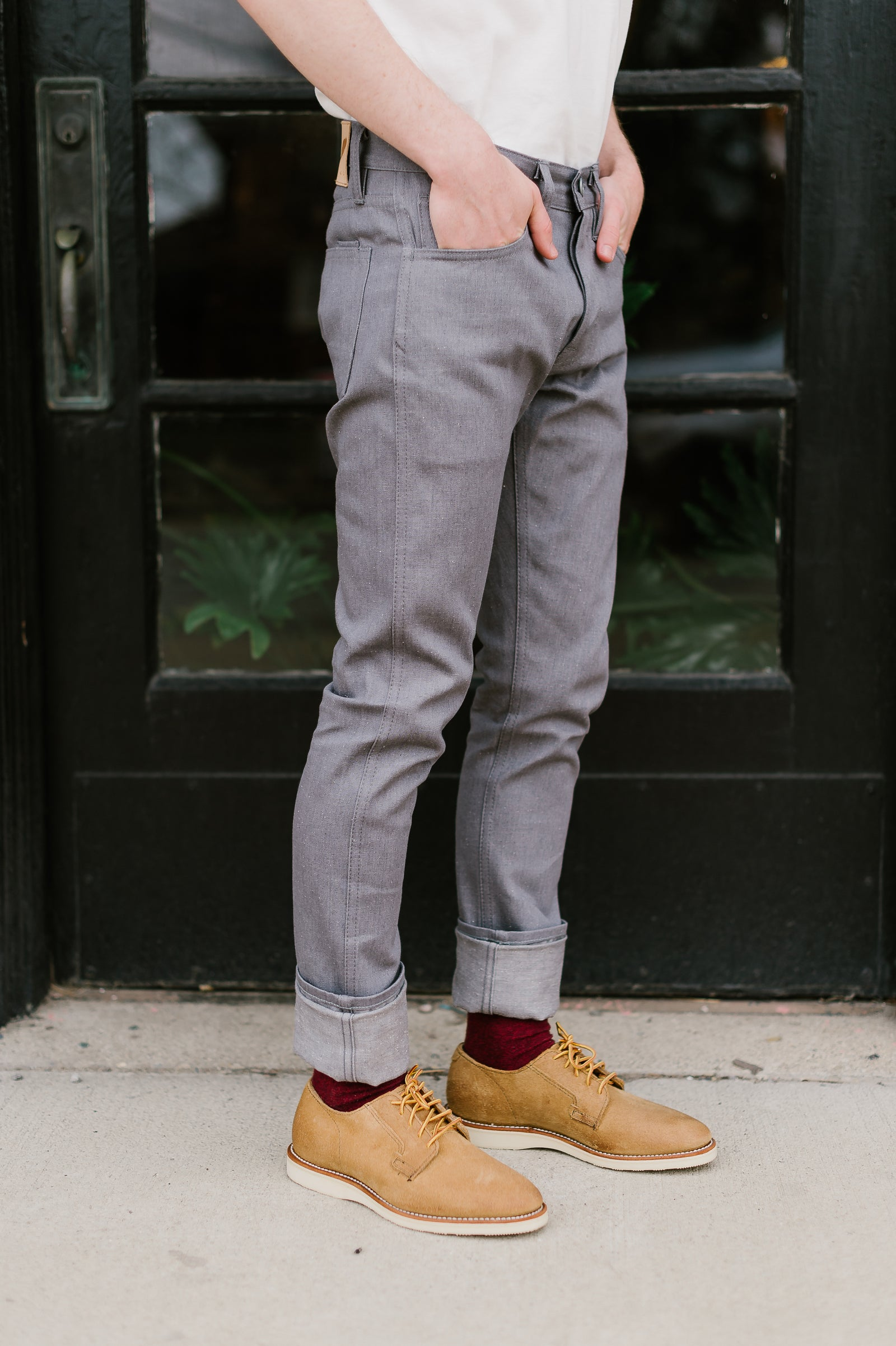 9oz - Neppy Grey Denim - SK Fit
