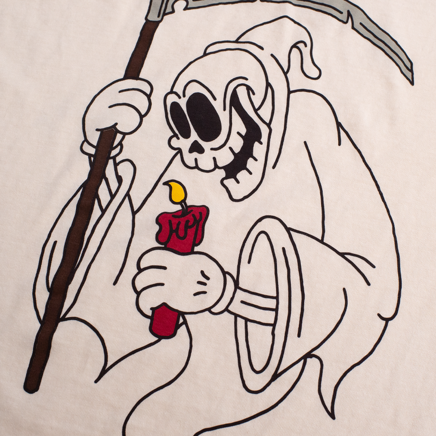Rubber Reaper Tee - Vintage Ivory