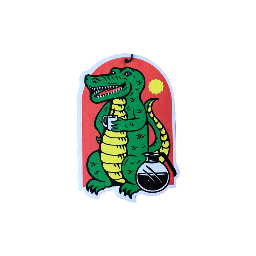 Alligator Coffee Air Freshener