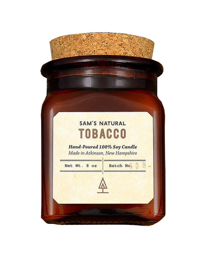 Sam's Natural Soy Candle - Tobacco