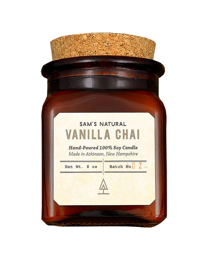Sam's Natural Soy Candle - Vanilla Chai