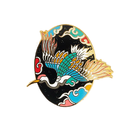Pitta Kkm Bird Pin