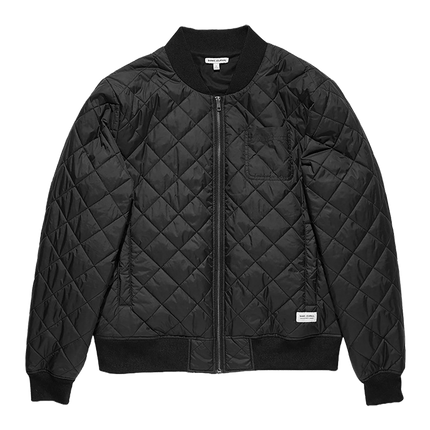 Stroll Quilted Jacket - Dirty Black