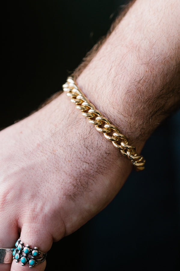 The Signature Bracelet - Polished - Brass