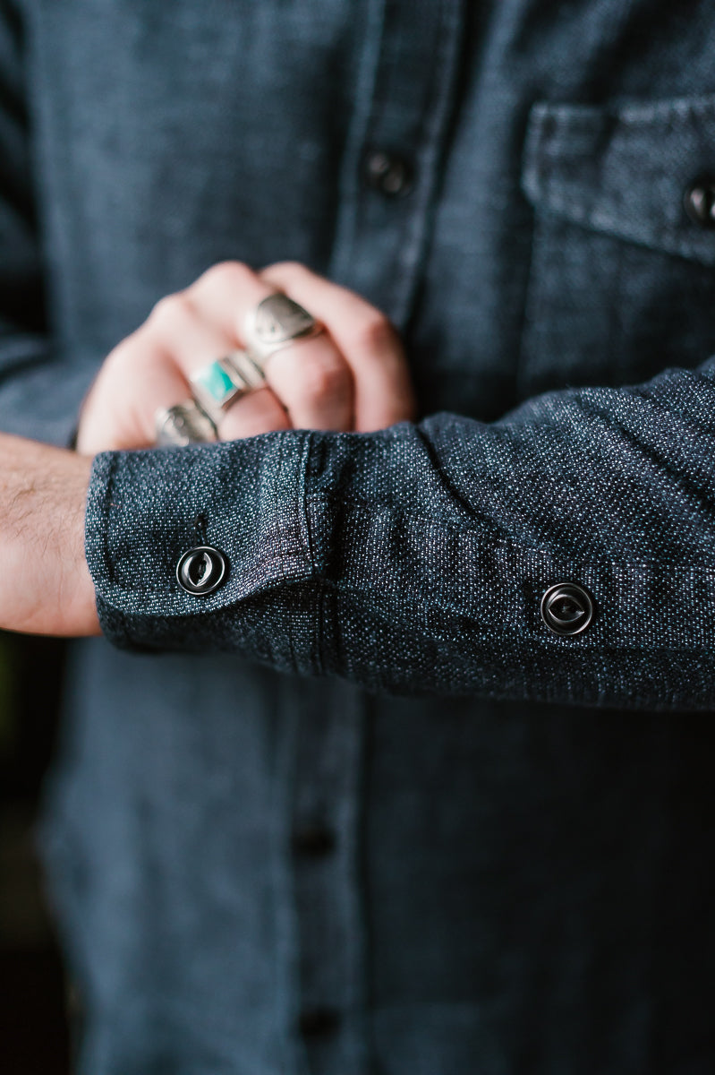 The Cash Shirt - Indigo Hemp