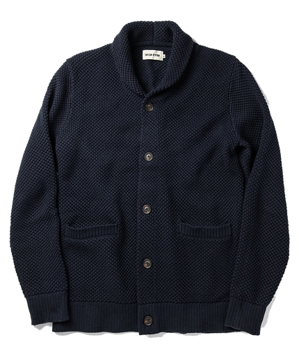 The Crawford Sweater - Navy