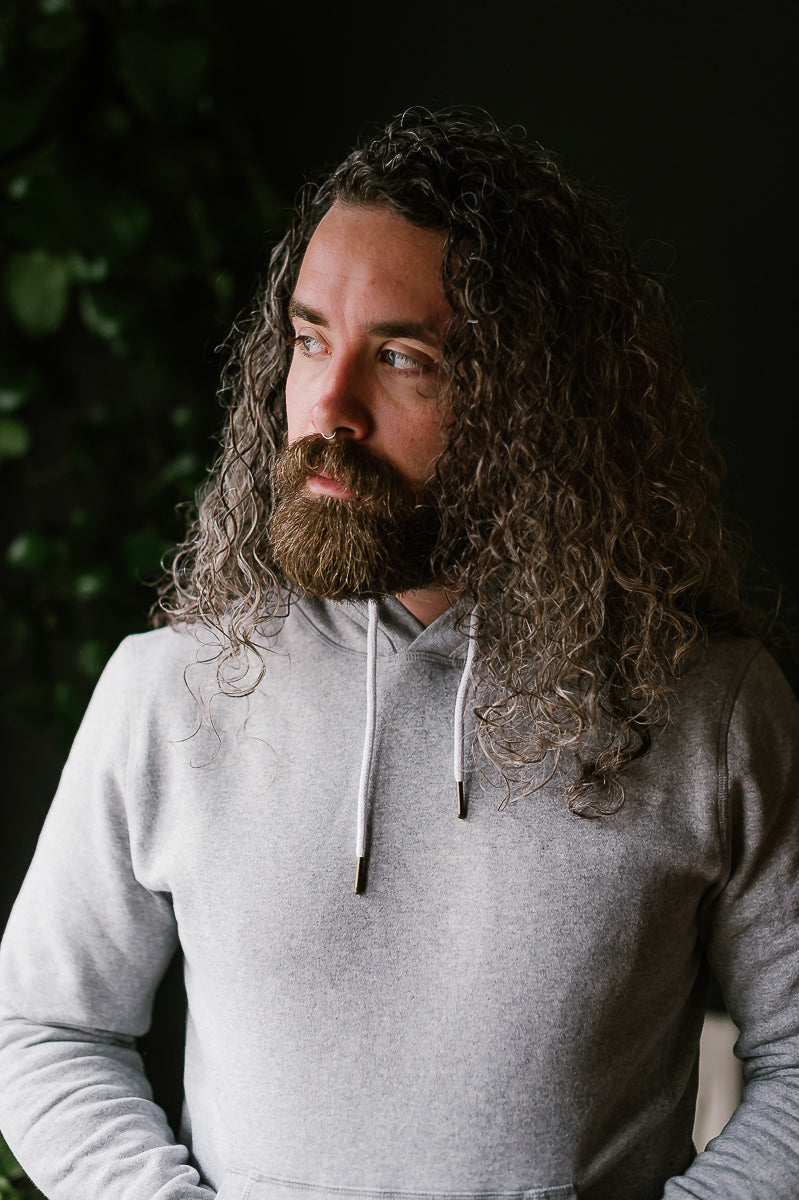 The Heavy Bag Hoodie - Heather Grey Fleece