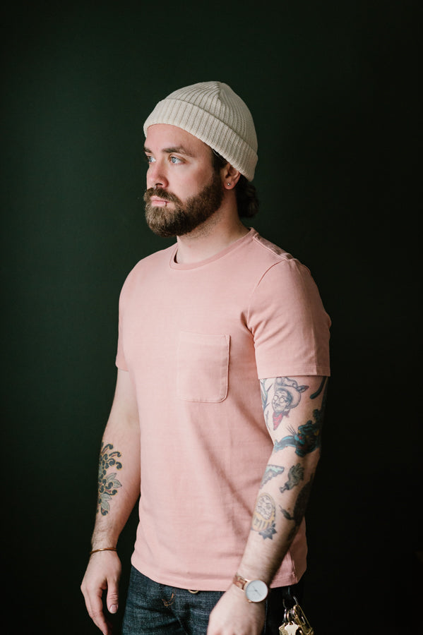 The Heavy Bag Tee - Dusty Rose