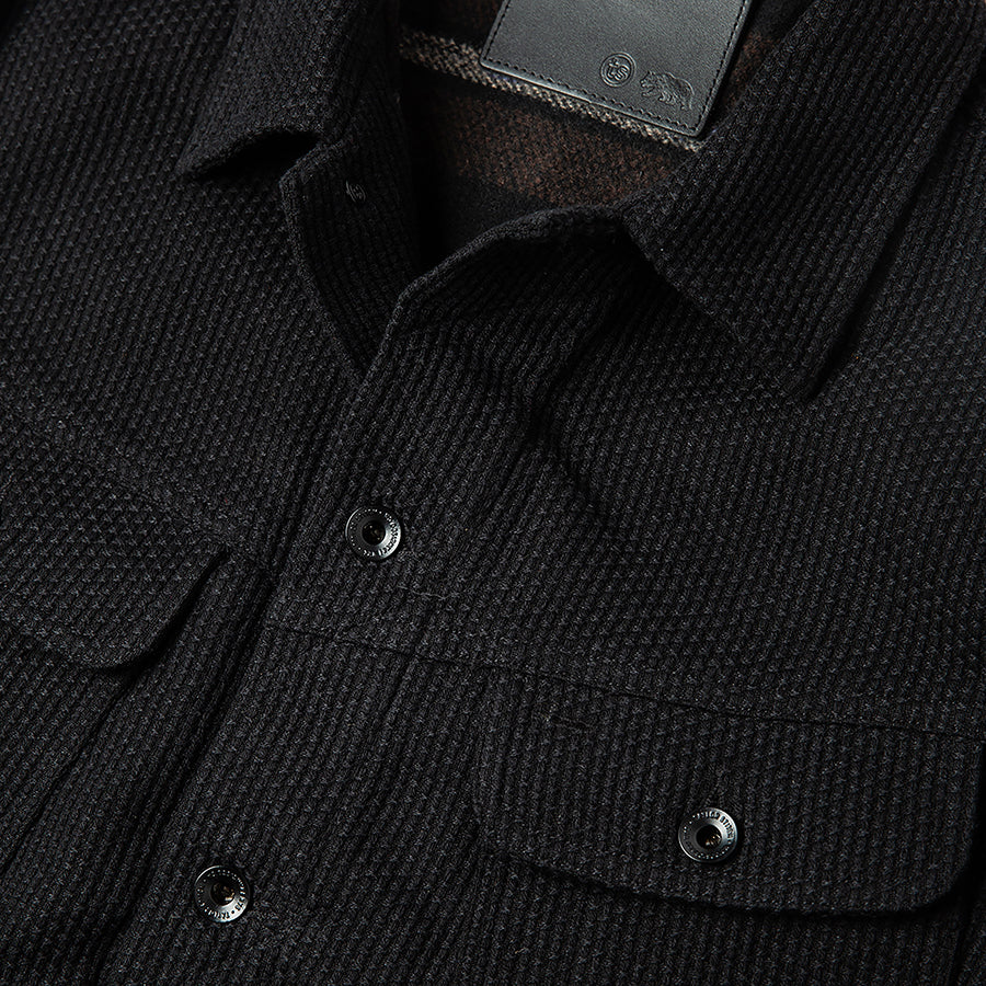 The Long Haul Jacket - Black Indigo Sashiko