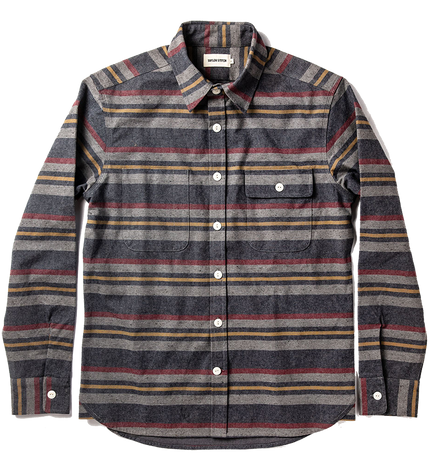 The Moto Shirt - Blanket Stripe