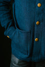 The Ojai Jacket - Indigo Diamond Plate