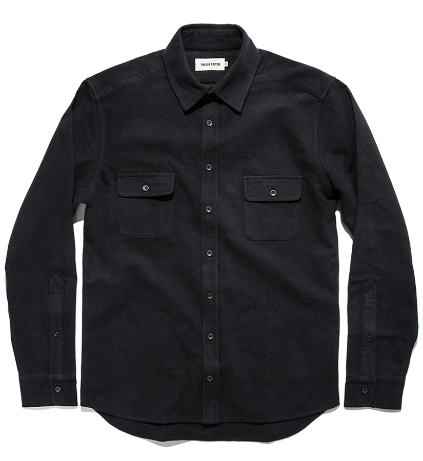 The Yosemite Shirt - Black